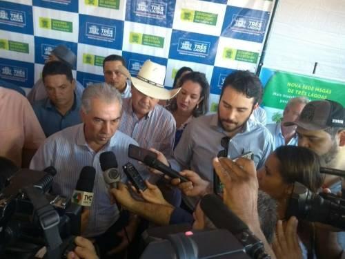 Governador Reinaldo Azambuja entrega e lança obras em Tres Lagoas