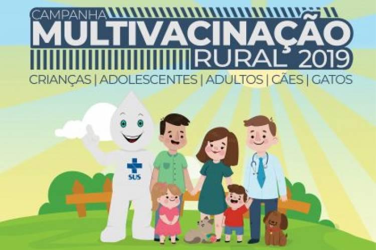 Campanha de Multivacinação Rural de Três Lagoas começa no dia 27 de julho