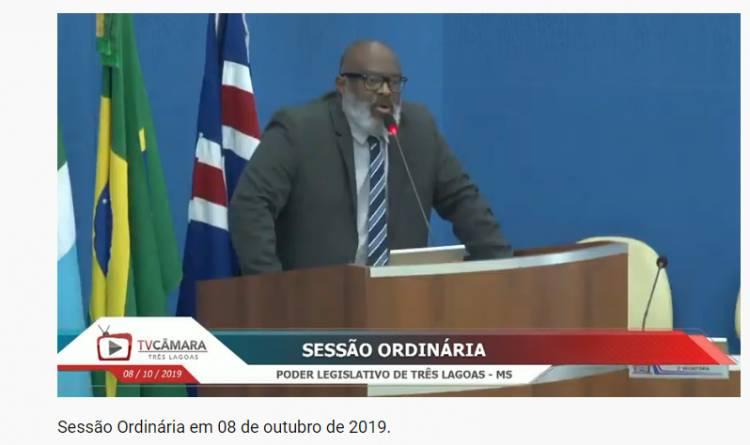 Vereador Reneê Venâncio defende que Três Lagoas participe do Projeto Escola Militarizada do Governo Bolsonaro