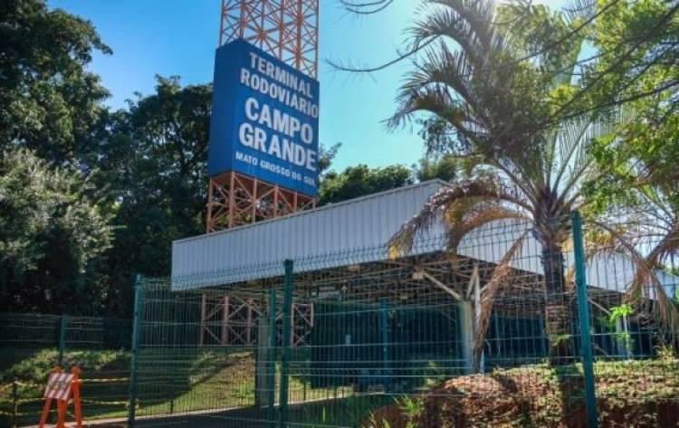 Campo Grande: com medidas de segurança, rodoviária volta a abrir para viagens intermunicipais