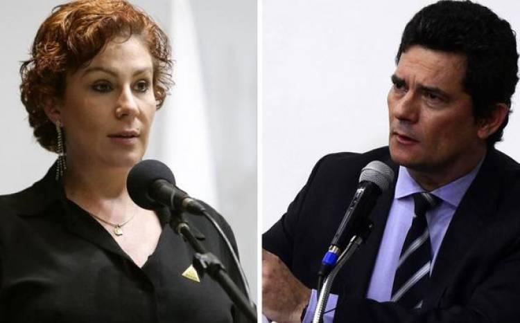 """Zambelli, ex-aliada de Moro, agora revela: """"ele tinha predileção em condenar o PT"""""""