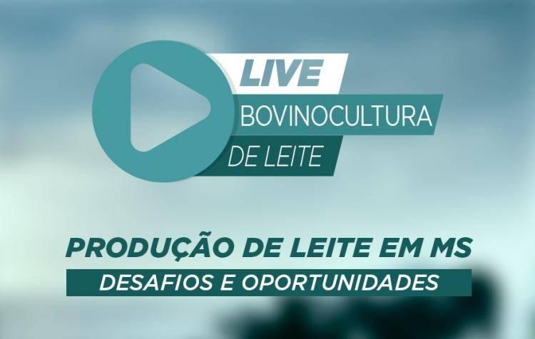 Desafios e Oportunidades: Live do Sistema Famasul vai debater bovinocultura de leite em MS