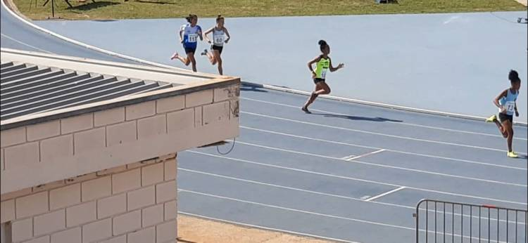 De Três Lagoas, Ana Laura e Camila Inês ficam entre as 10 melhores do País no Campeonato Brasileiro de Atletismo