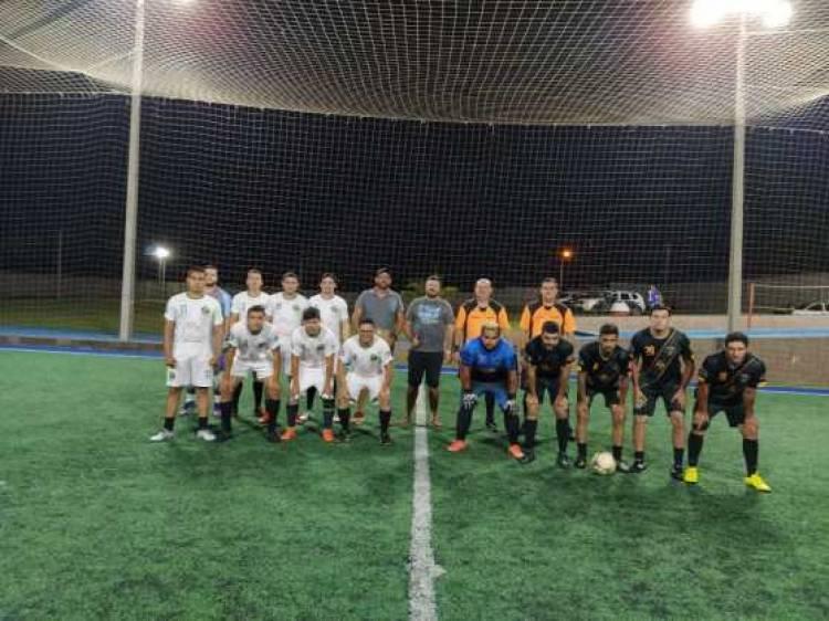 Começou a 1ª Copa Oscivaldo de Futebol Society do SIMTED de Ponta Porã