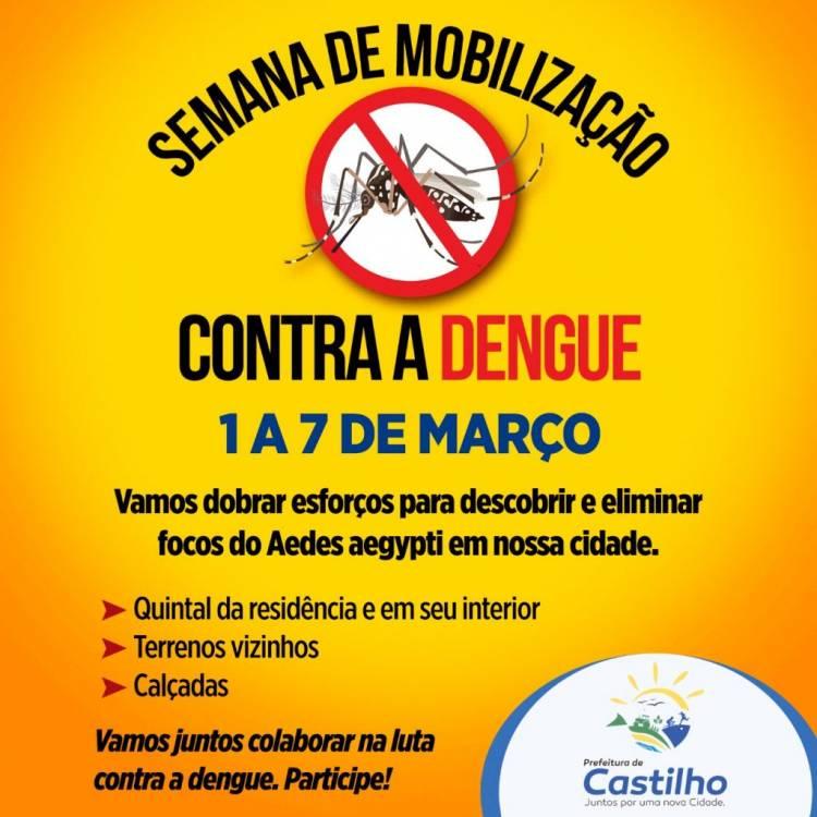 CASTILHO SÃO PAULO: Casos confirmados de Dengue chegam a 471 e Saúde anuncia nova aplicação de inseticida