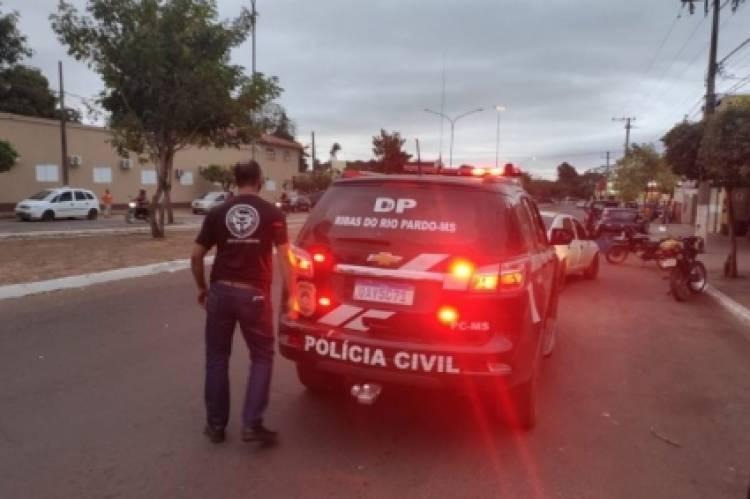 Policia civil prende condenado a quase 50 anos de prisão que estava foragido em Ribas do Rio Pardo